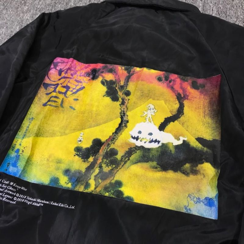 Kanye West Kids See Ghost High-Quality Jacket
