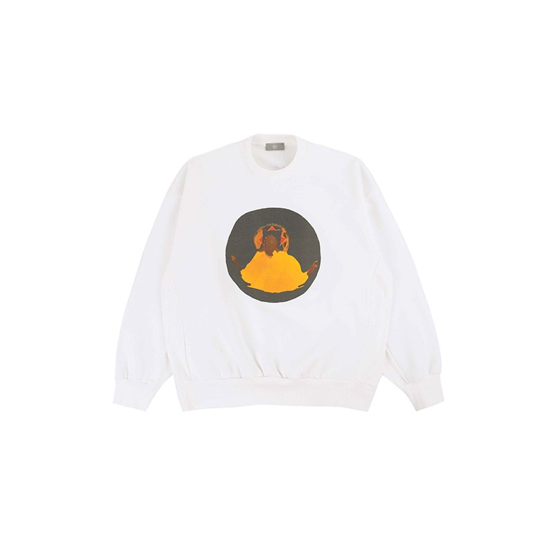 Kanye West Jesus Is King Jamaican Crew Neck Sweatshirt