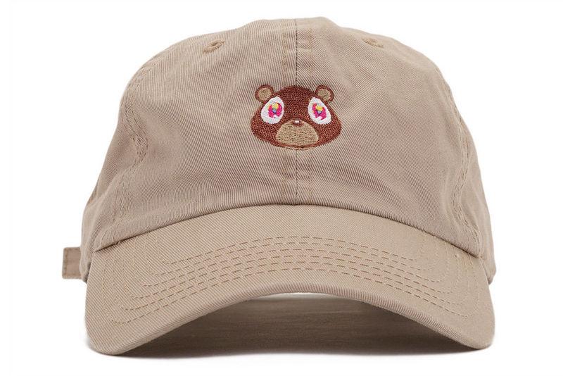 Kanye West Bear Dad Hat