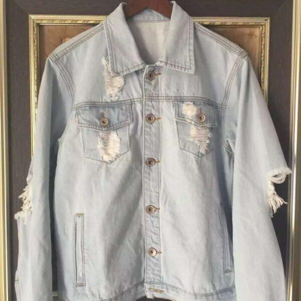 Kanye West Pablo Denim Jeans Jackets