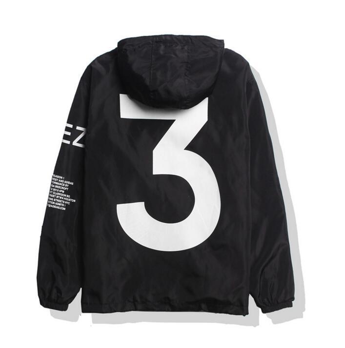 Kanye West Season 3 Windbreaker Jacket