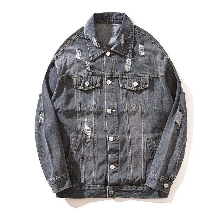 Kanye West Lets Rock Up Jeans Jacket