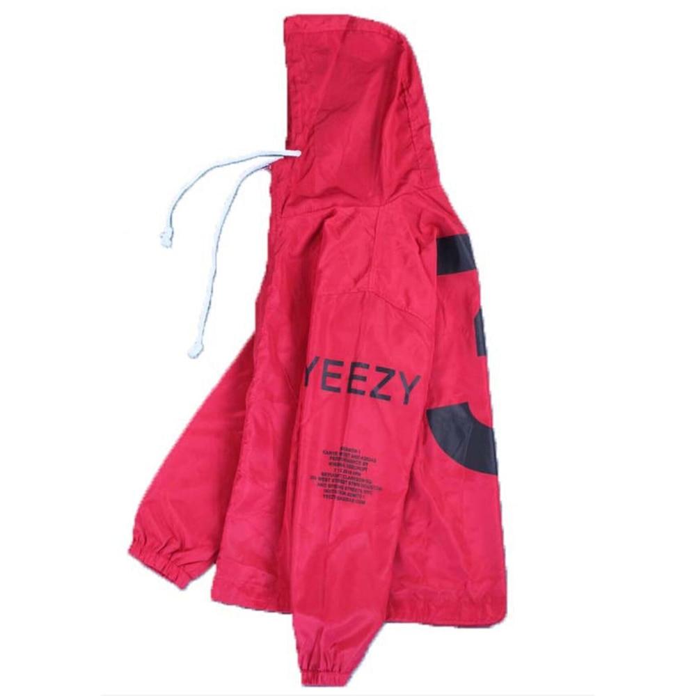 Jacket Kanye West Windbreaker Bomber Jacket