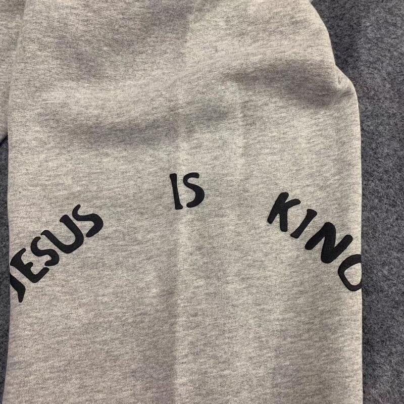 Kanye West Jesus is King Joggers Streetwear
