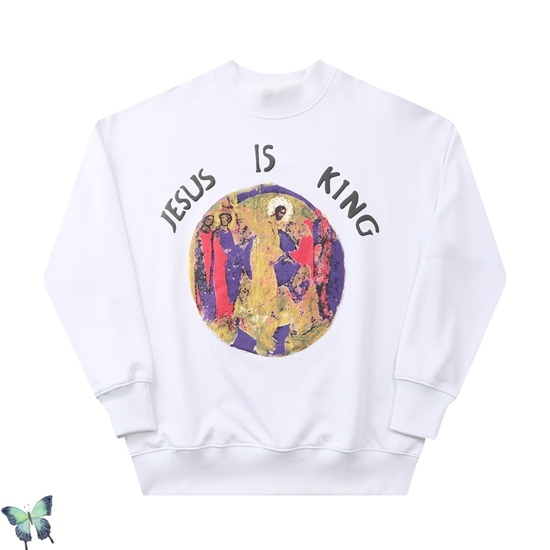 Jesus Is King Kayne West High-Quality Sweatshirt
