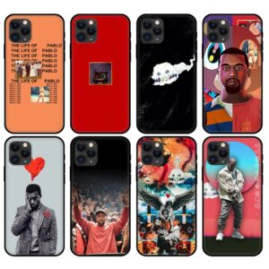 Kanye West Black Tpu Case For Iphone