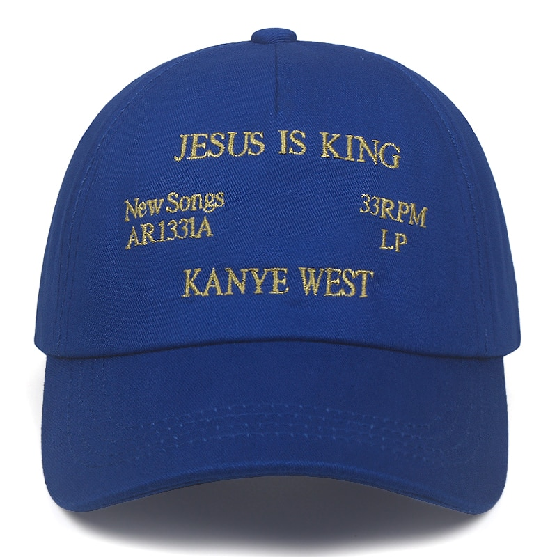 Kanye West Jesus Is King Album Baseball Caps