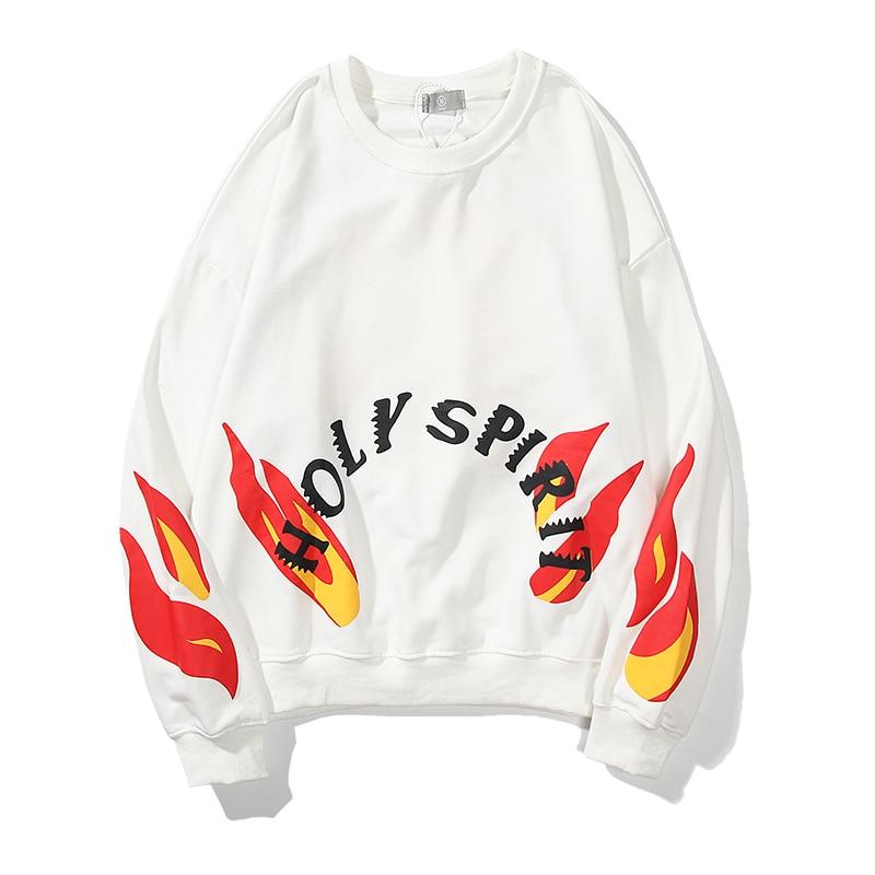 Kanye West Jesus Is King White Holy Spirit Sweatshirts