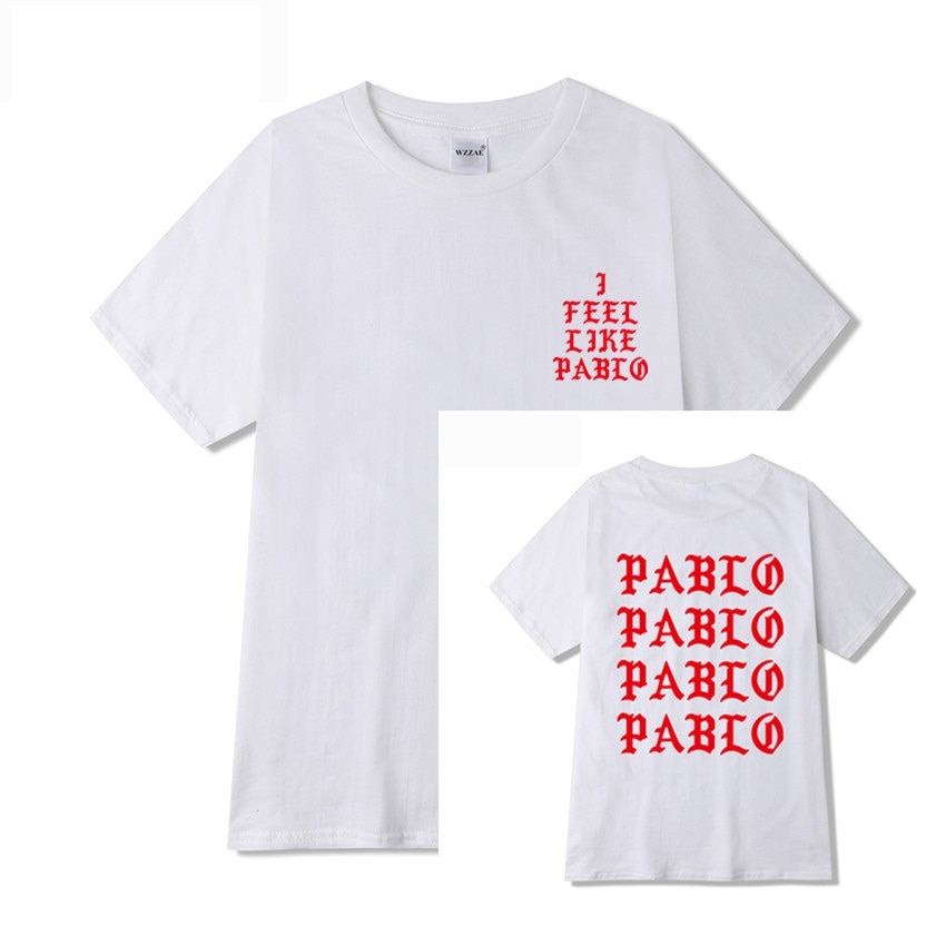 Kanye West I Feel Like Pablo T-shirt Men Streetwear