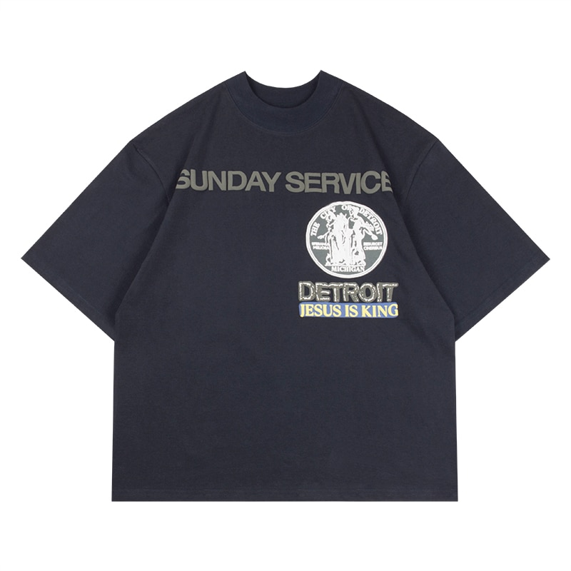 Jesus is king Best Quality Detroit T-shirt