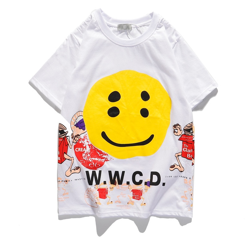 Kanye West W.W.C.D Smiley Face Tshirt