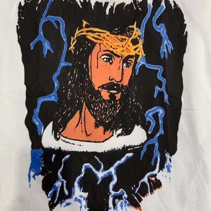 Kanye West Jesus Is King Lightning 3D Printed Tee