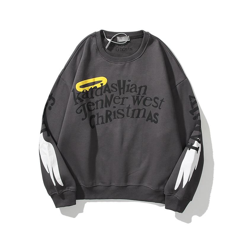 Kayne West Kardashia jenner west christmas Sweatshirt