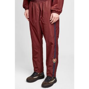 Kayne West Men Wine Red Sweatpants Trousers