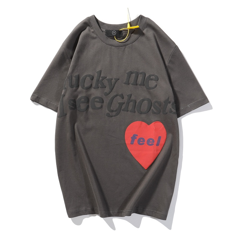 Kanye West Lucky Me i See Ghost Loose Tshirts