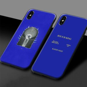 Kanye West Soft Silicone Phone case cover iPhone