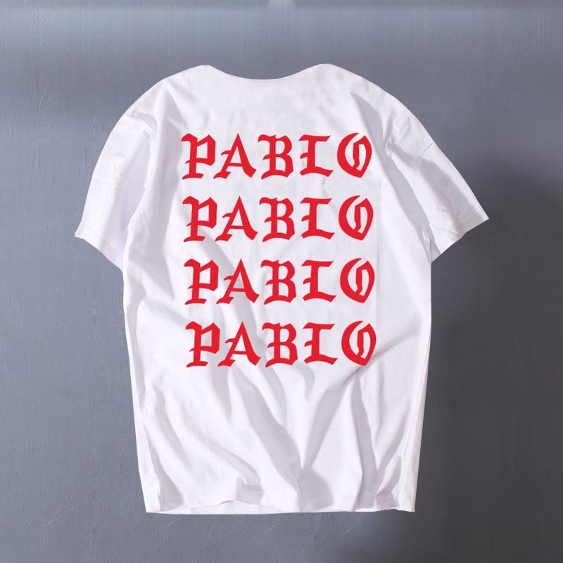 Kanye West Pablo I Feel Like Paul Printed Short Sleeves T-Shirt