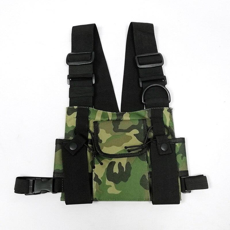 Kayne West Streatwear HipHop Type Chest Bag