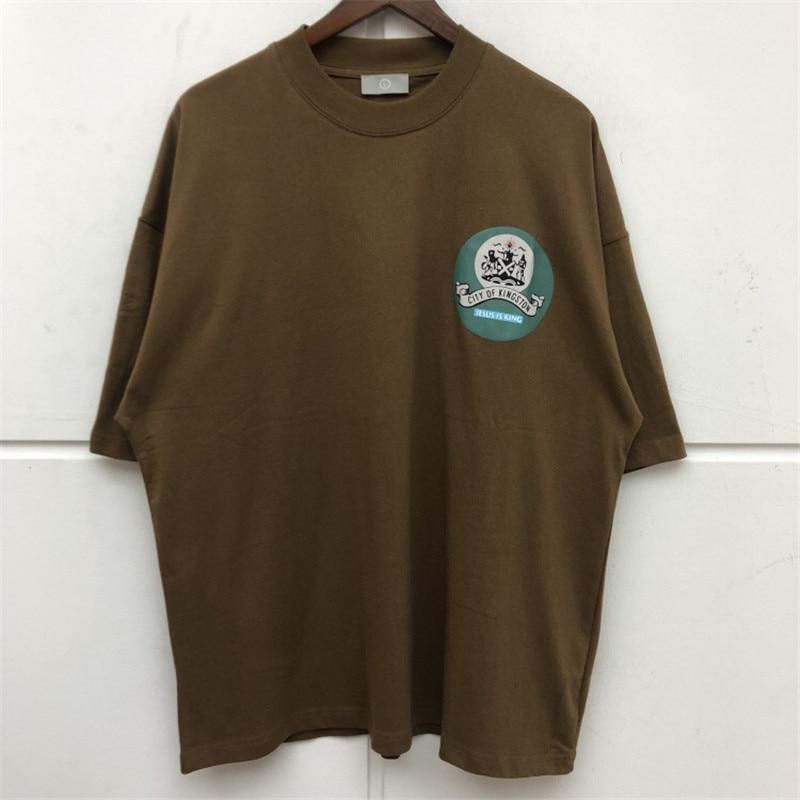 Kanye West Fashion Casual T-shirts