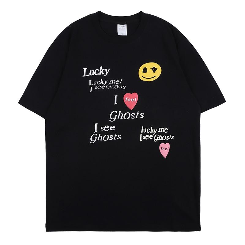 Kanye West Oversize Crew Neck Short Sleeve T-shirt