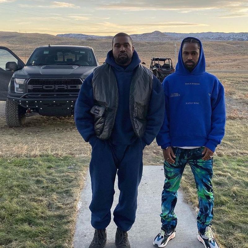 Jesus Is King Kanye West Navy Fleece Hoodie