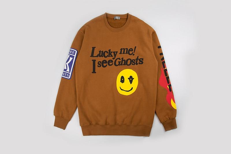 Kanye West Kids See Ghosts Printed SweatShirt