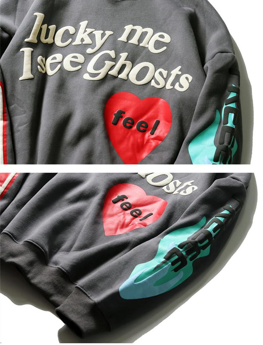 Luck Me I See Ghosts Kanye West Hoodie