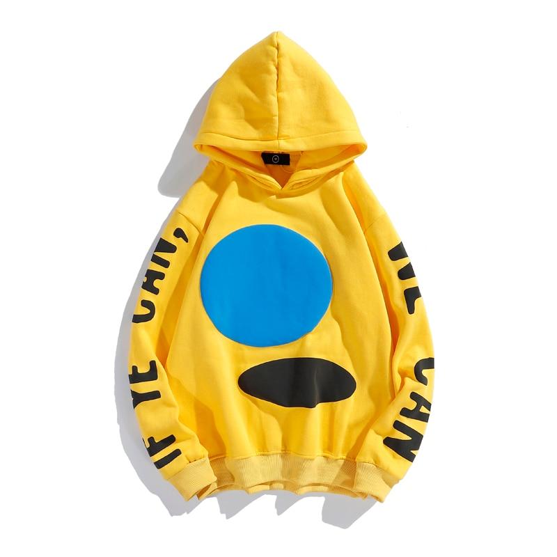 Jesus Is King Yellow Pullover Fleece Hoodie