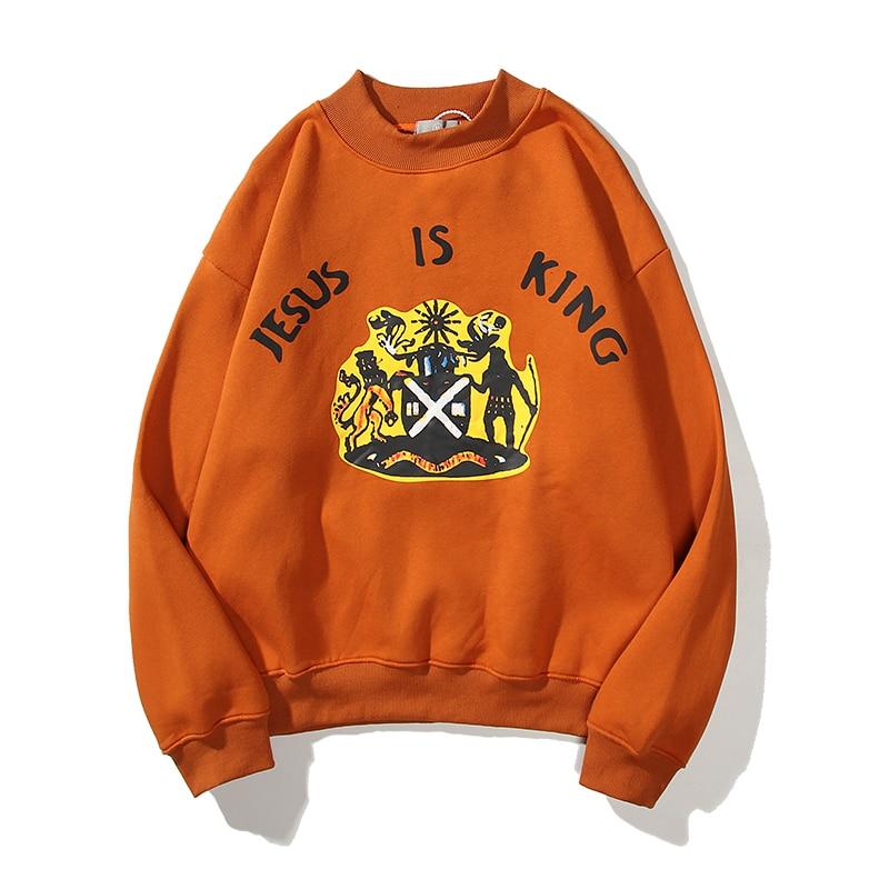 Jesus Is King Printed Sweatshirt