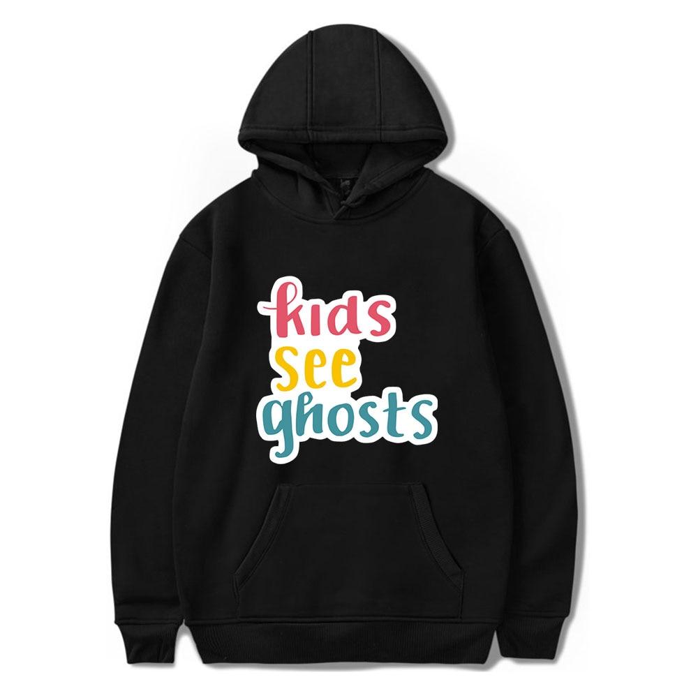 Kids See Ghosts Hoodies Men's Women Long Sleeve Hoodie