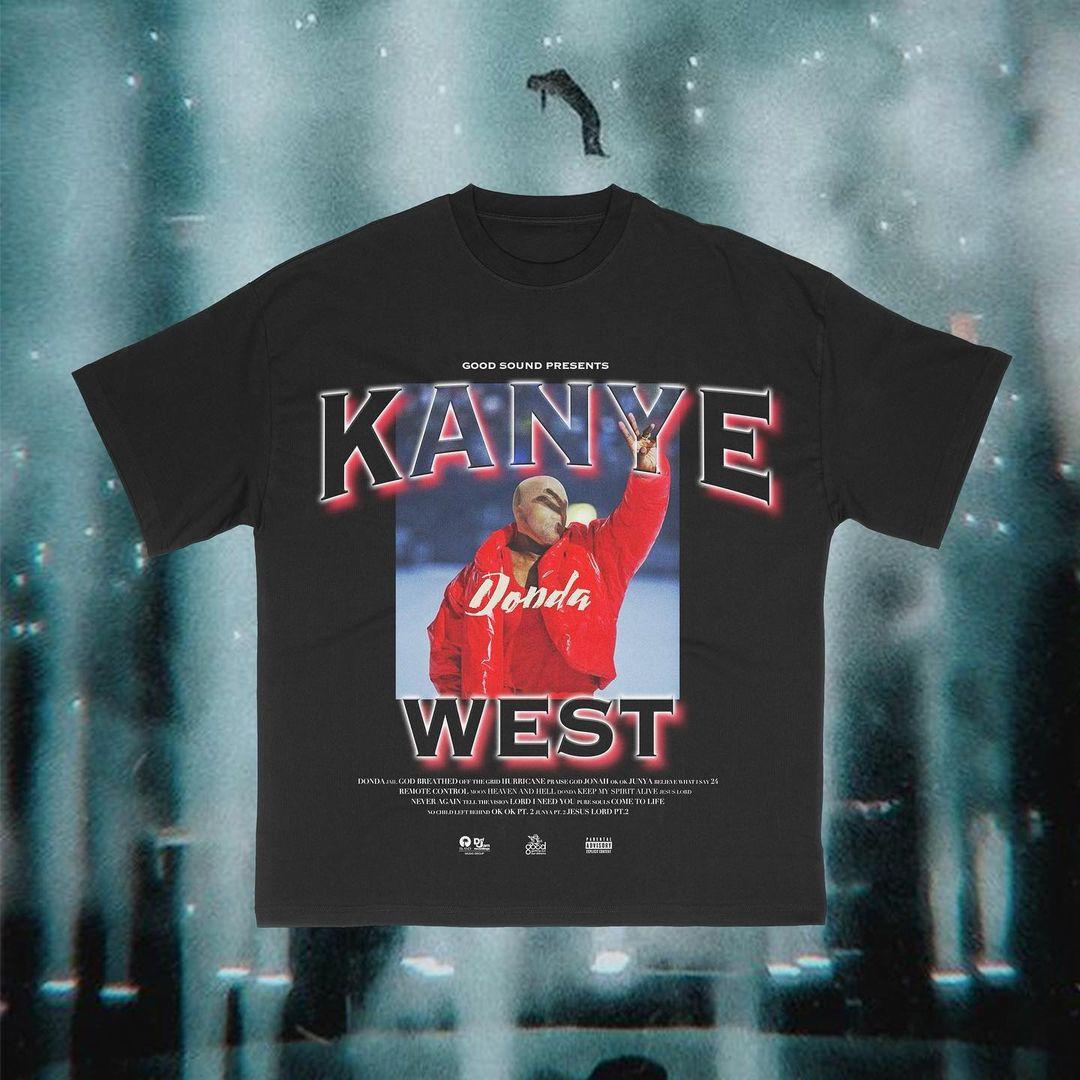 kanye west aesthetic donda shirt