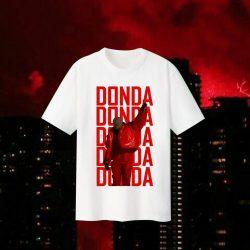 DONDA DONDA DONDA DONDA DONDA TSHIRT