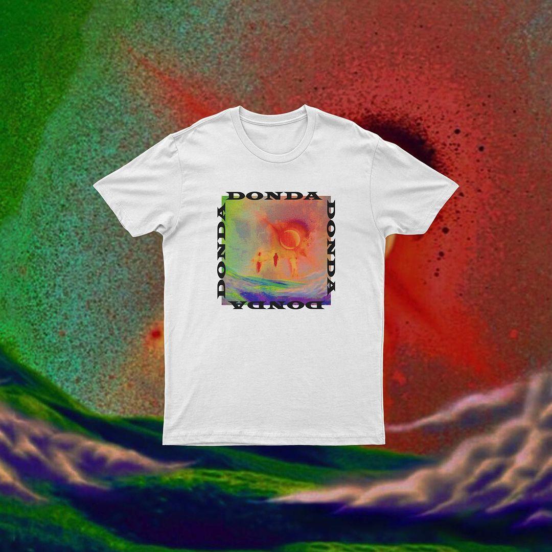 donda album cover tshirt